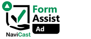 NaviCast Form Assist Ad