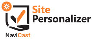 NaviCast Site Personalizer